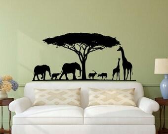 jungle nursery decor jungle animal wall decals safari