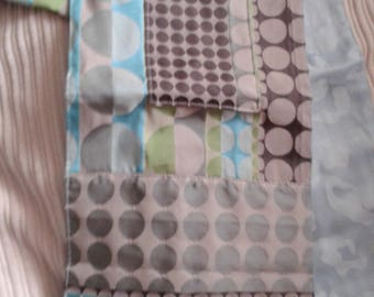 Patterned fabric scarf