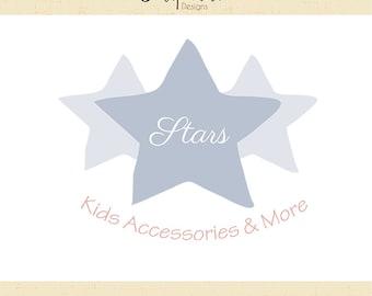 Premade Logo & Watermark // Kids Shop // Child Clothing // Handmade Business // Solipandi Design Studio// #017