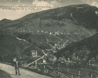 Dauphine, France,  circa 1910 Unused Postcard, St Pierre de Chartreuse