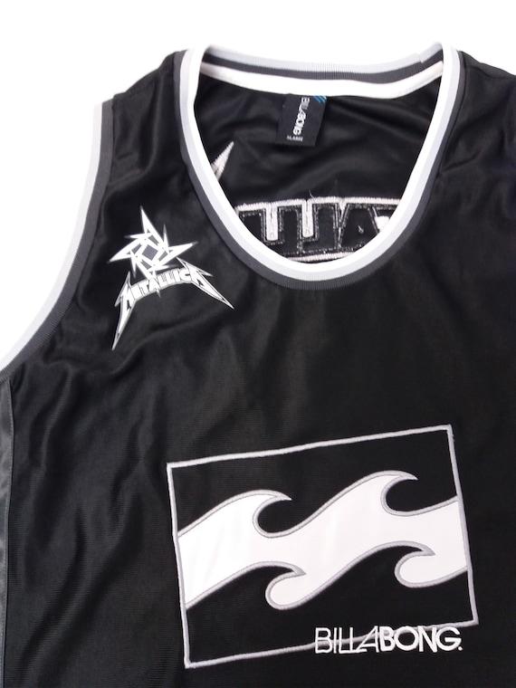 Tank Edition Jersey METALLICA XL Ltd Top Billabong Vintage Basketball 90's x Size RARE Men's qA6ZH