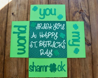 St. Patrick's Day Care Package Flaps