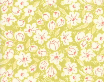 Lime Green Coney Island Fabric - Moda - Fig Tree & Co - 20285 17