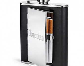 The James Dean All In One Engraved Flask