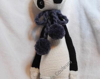 Lalylala Panda, Amigurumi, crochet doll