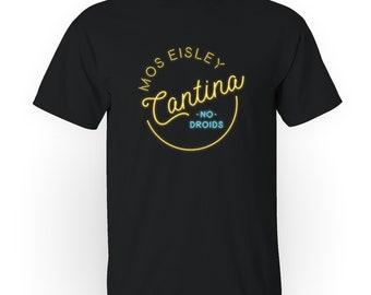 Mos Eisley Cantina - Star Wars Parody Graphic Tee Men's T-Shirt