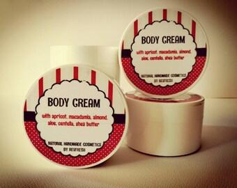 Body cream, hydrating, firming, 200ml