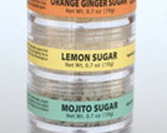 Flavored Sugar Sampler