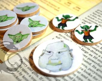 RPG Token Set - Goblin and Friends
