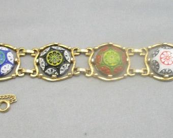 CELEBRITY MOROCCAN MOSAIC Bracelet  by Delizza & Elster