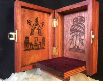 Lilith Portable Travel Altar Box