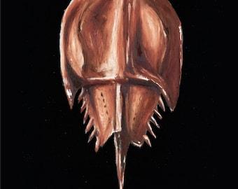 Horseshoe Crab Painting #67