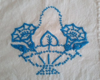 Vintage Hand Embroidered and Crochet Doilies