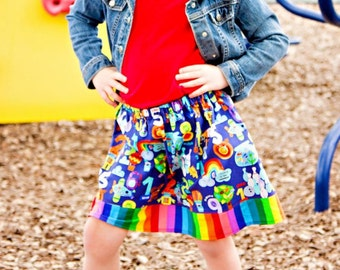 Uno, dos, tres   Skirt (2T, 3T, 4T, 5, 6, 7, 8, 10)