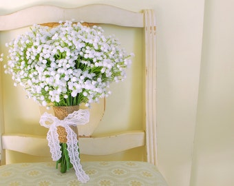 Baby's Breath Bouquet (Gorgeous Artificial Baby's Breath Gypsophelium Bouquet)