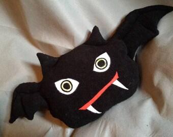 large bat cushion mouse