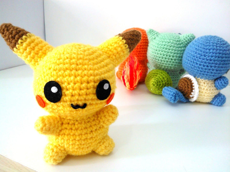 Amigurumi Magazine Pdf : Pikachu pdf pattern instant download