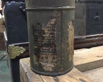 Tin Container - Tin advertising