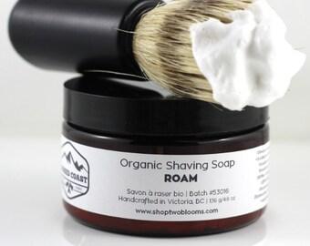 Style italien de bio savon de rasage - crème de rasage - savon, traditionnel de rasage humide rasage savon, Vegan savon Victoria BC Canada
