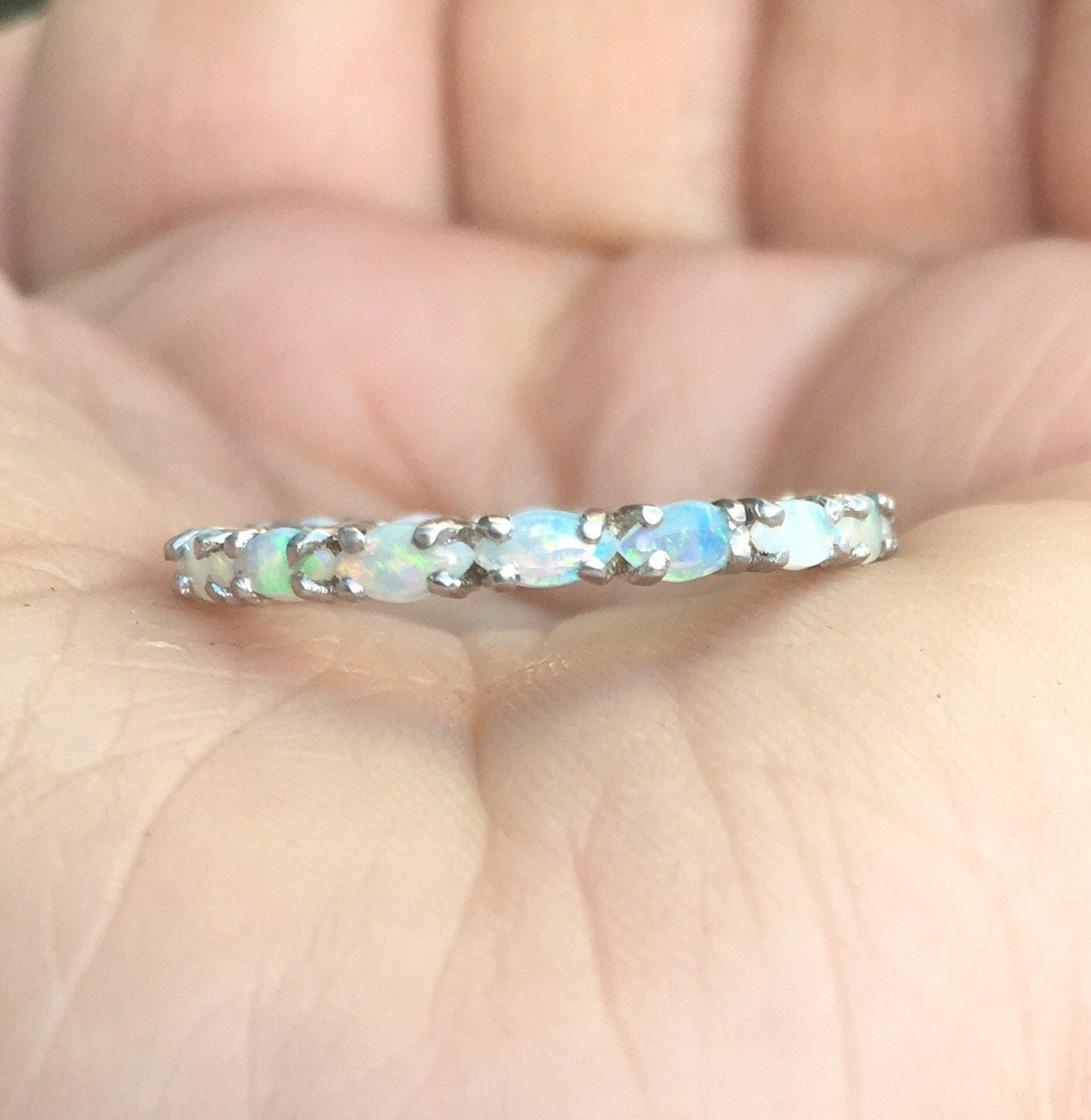 wedding october birthstone new rings