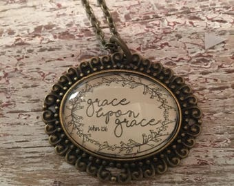 Grace upon Grace necklace
