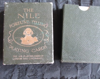 Antique Nile Tarot Fortune Cards dating from between 1897/1904 Collectors Deck