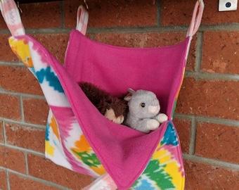 Ferret, rat, squirrel, chinchilla cuddle hammock
