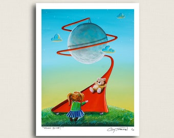 Moon Slide - every kids dream - Limited Edition Signed 8x10 Semi Gloss Print (5/10)