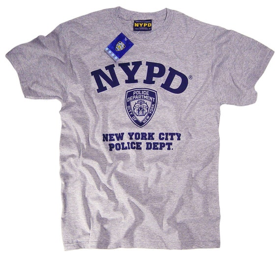 2017 New Brand Modal T Shirt Police Dept Design T Shirts: NYPD Shirt T-Shirt Officially Licensed Clothing Apparel By The