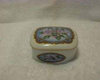 Love songs to remember porcelain music box.
