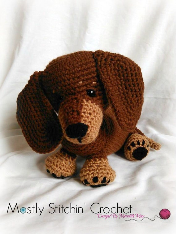 Dash The Dachshund Pup Crochet Pattern Pdf