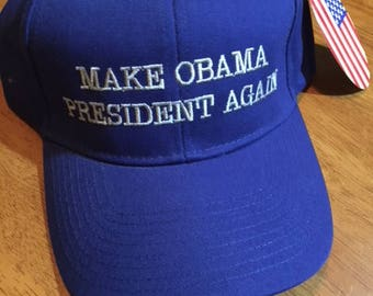 MAKE OBAMA PRESIDENT Again  hats