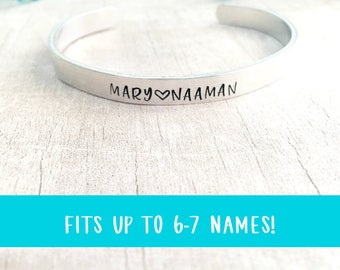 Personalized Name Bracelet for Mom - Mother's Day from Kids - Mom Bracelet with Kids Names - Personalized Mom Gift - Mother's Day Jewelry