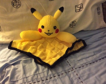 Pikachu baby comforter