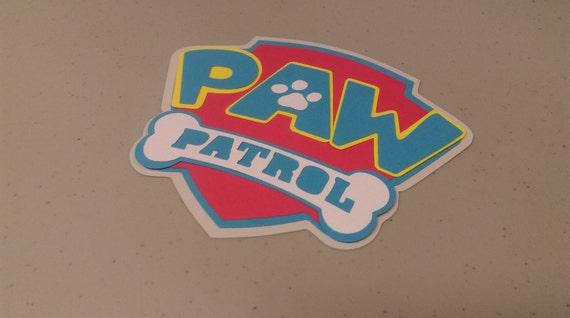 Paw Patrol Badge 2 DIY Logos Icon
