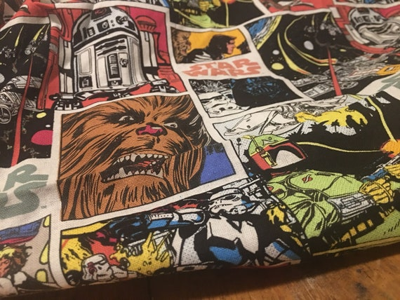 with fabric comic glossy Vibrant heels book Womens high Star customizable Wars w7x6F1Yz