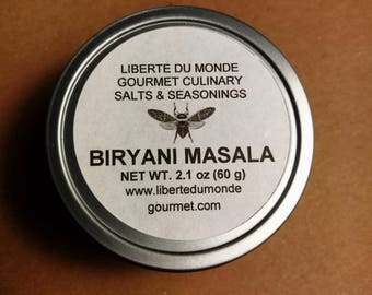 Biryani Masala in 4 oz Tin