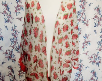 ladies kimono/beach cover up/wrap/sun dress/ floaty top