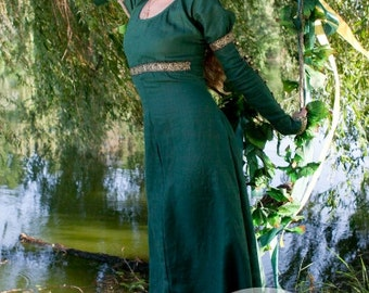 """Medieval Dress Tunic """"Forest Princess"""""""