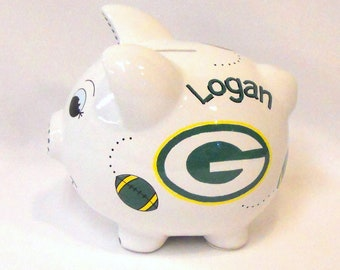 Personalized Piggy Bank Packers