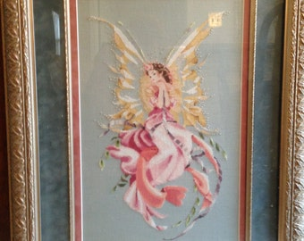 Titania Framed Cross Stitch