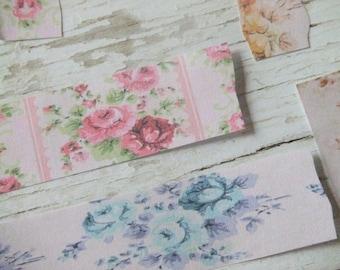 Scrap paper pieces - scrapbooking paper - Divine paper collection - Embellishments - offcuts - decorative paper