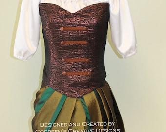 Ladies Pirate Fairy Costume, Custom Made Costume, Zarina inspired costume, Pixie Friends Cosplay