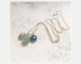 Gemstone necklace 100% sale price donated to Democrats