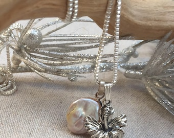 Silver Charm Necklace. Mix and Match. Sterling Silver and Gemstone Charm Necklace. Chain  Handmade Necklace.