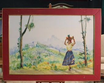 Signed and dated A. Cassone 1964 panel