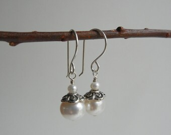 Pearl Guinevere Earrings II