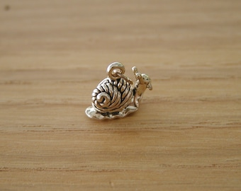 Snail Sterling Silver Charm