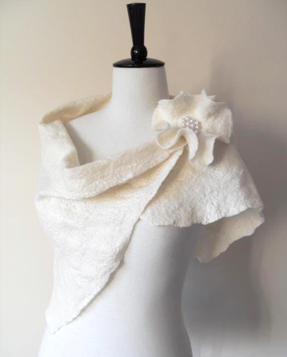 Wedding Gown Wraps: Wedding Shawl Bridal Shawl Bridal Wrap Ivory Bridal Stole