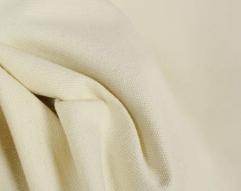 Pebble Natural Solid Fabric